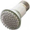 E27 3W šiltai balta LED lemputė
