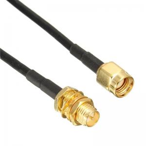"""Jungiamasis kabelis """"Profesionalas"""" (SMA išorinis/vidinis, 20 metrų, 4G/3G LTE)"""