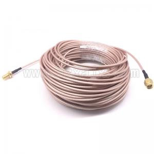 """Jungiamasis kabelis """"Geriausia kokybė"""" (SMA išorinis/išorinis,10m,4G/3G/2G,WiFi)"""