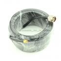 """Jungiamasis kabelis """"Aukščiausia kokybė"""" (SMA išorinis/N išorinis, 15 metrų,4G/3G/2G,WiFi)"""