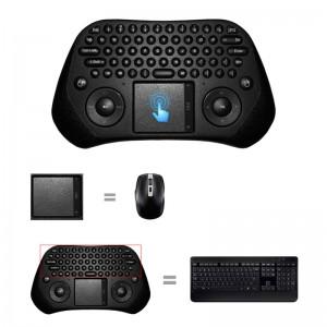 """Erdvinė klaviatūra-pelė """"Genijus 2"""" (Wireless 2.4 GHz, nuotolinis pultas)"""