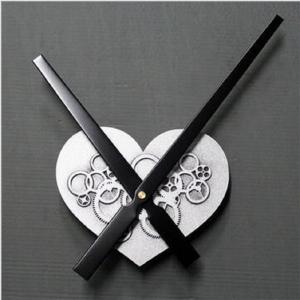 """Sieninio laikrodžio mechanizmas """"Sidabrinė meilės širdelė"""""""