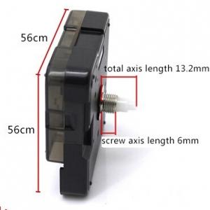 """Laikrodžio mechanizmas """"Suzuki"""" (13.2mm ašis)"""