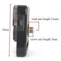 """Laikrodžio mechanizmas """"Ostar"""" (11mm ašis)"""
