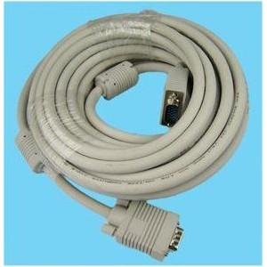 10 m VGA M/M kabelis