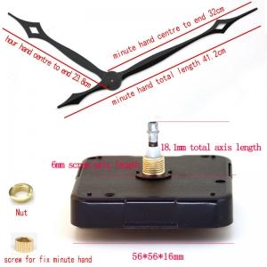 """Laikrodžio mechanizmas """"Geriausia kokybė"""" (18.1mm ašis)"""