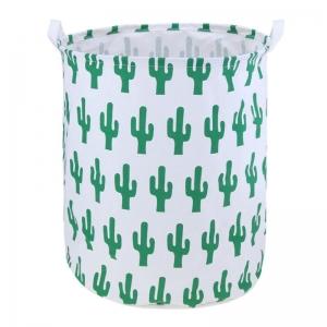 """Medvilninė daiktadėžė """"Puikieji meksikietiški kaktusai"""""""