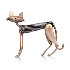 """Kūrybinė metalo skulptūra """"Pats gražiausias katinas 2"""""""