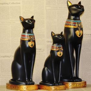Egiptietiška sėkmės, džiaugsmo ir pramogų deivė Bastetė (31 cm)