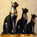 """Skulptūra """"Egiptietiškas katinas nuostabusis"""" (32 cm)"""