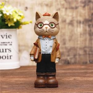 "Stilingoji taupyklė ""Katinukas mokosi"" (15 cm)"
