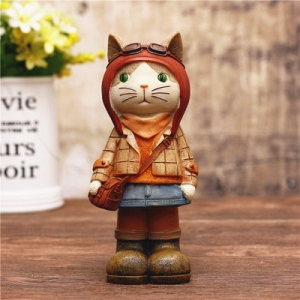"Stilingoji taupyklė ""Katinukė mokosi"" (15 cm)"