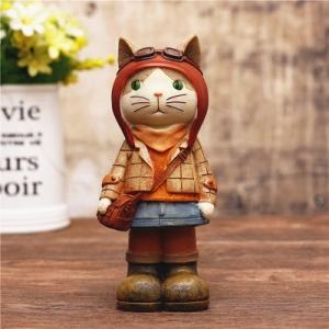 "Stilingoji taupyklė ""Katinukė mokosi"" (22 cm)"