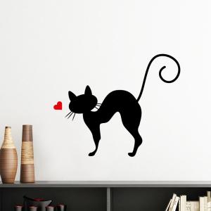 """Sieninis lipdukas """"Įsimylėjęs katinas 3"""""""