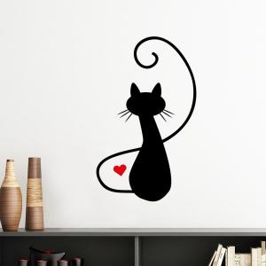 """Sieninis lipdukas """"Įsimylėjęs katinas 5"""""""