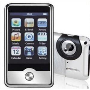 4 GB 2.8 MP4 grotuvas su vaizdo kamera