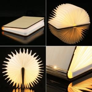 """Pastatoma LED lempa """"Šviečianti knyga"""""""