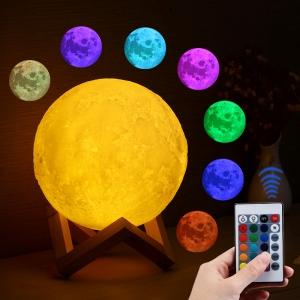 """Pastatoma LED lempa """"Šviečiantis mėnulis"""""""