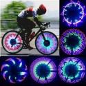 """32 LED dviračio rato lempa """"Nuostabios nakties spalvos"""""""