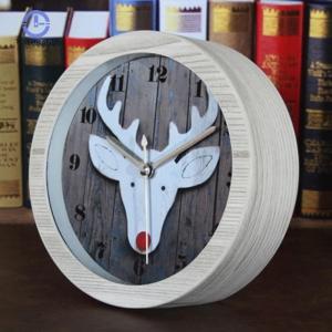 """Medinis laikrodis """"Baltasis elnias"""""""