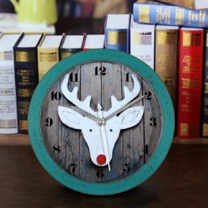 """Medinis laikrodis """"Baltasis elnias 2"""""""