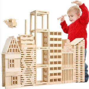 """Vaikiškas medinis konstruktorius """"Aukščiausia klasė"""""""