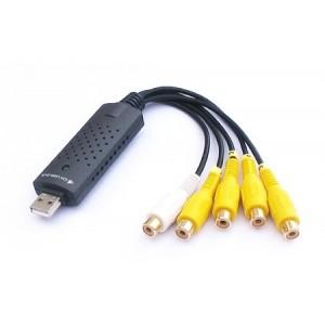 USB 4 kanalų video įrašymo įtaisas