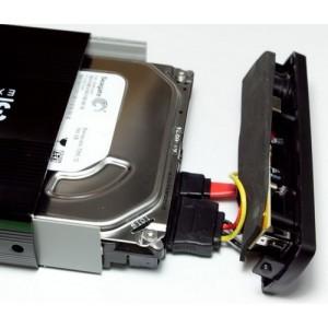USB 3.5 SATA HDD išorinis dėklas