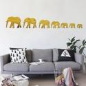 "Veidrodiniai lipdukai ""Septyni drambliai"" (25 x 15 cm)"