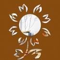 """Veidrodiniai lipdukai """"Puikioji saulėgraža"""" (60 x 40 cm)"""