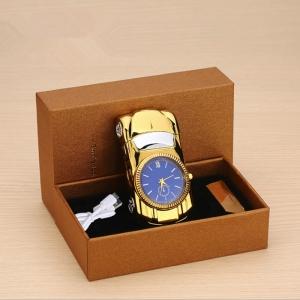 """Laikrodis žiebtuvėlis """"Auksinis automobilis"""""""