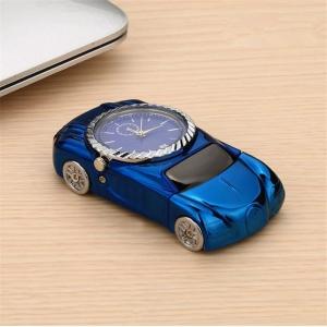 """Laikrodis žiebtuvėlis """"Mėlynas automobilis"""""""