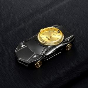 """Laikrodis žiebtuvėlis """"Juodasis automobilis 2"""""""