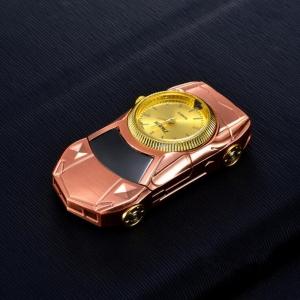 """Laikrodis žiebtuvėlis """"Rožinis automobilis"""""""
