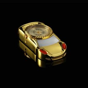 """Laikrodis žiebtuvėlis """"Auksinis automobilis 4"""""""