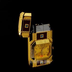 """Laikrodis žiebtuvėlis """"Auksinė prabanga"""""""