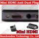 """Mini HDMI dangtelis nuo dulkių """"Įdeali švara"""" (10 vnt)"""
