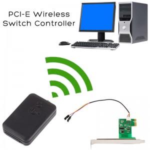 Kompiuterio nuotolinio valdymo sistema (20 m PCI-E, Wireless, įjungti, išjungti, perkrauti kompiuterį)