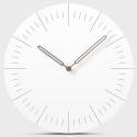 """Sieninis laikrodis """"Baltoji elegancija"""" (30 cm)"""