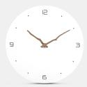 """Sieninis laikrodis """"Baltoji elegancija 2"""" (30 cm)"""