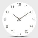 """Sieninis laikrodis """"Baltoji elegancija 7"""" (30 cm)"""