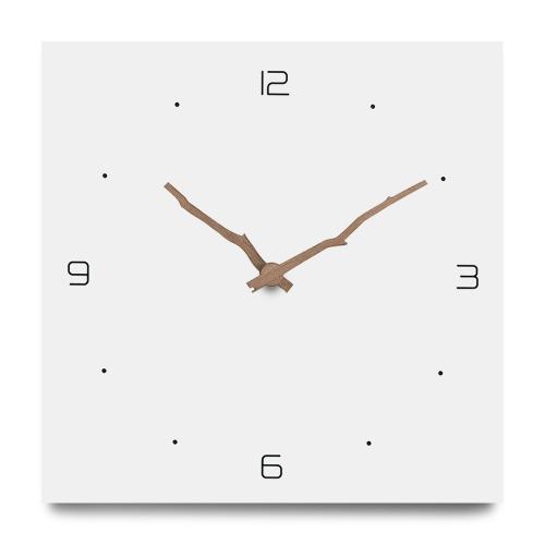 """Sieninis laikrodis """"Baltoji elegancija 12"""" (30 cm)"""