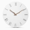 """Sieninis laikrodis """"Baltoji elegancija 13"""" (30 cm)"""