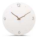 """Sieninis laikrodis """"Baltoji elegancija 14"""" (30 cm)"""