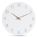 """Sieninis laikrodis """"Baltoji elegancija 17"""" (30 cm)"""