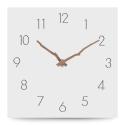 """Sieninis laikrodis """"Baltoji elegancija 19"""" (30 cm)"""
