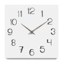 """Sieninis laikrodis """"Baltoji elegancija 20"""" (30 cm)"""