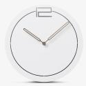 """Sieninis laikrodis """"Baltoji elegancija 21"""" (30 cm)"""