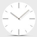 """Sieninis laikrodis """"Baltoji elegancija 23"""" (30 cm)"""