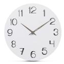 """Sieninis laikrodis """"Baltoji elegancija 25"""" (30 cm)"""
